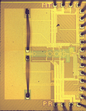 A plastic waveguide receiver in 40nm CMOS with on-chip bondwire antenna